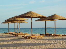 Exklusiver Hurghada Urlaub: Eigener Hotelstrand gehört oft dazu