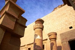 Der Totemtempel Hatscheput in Theben