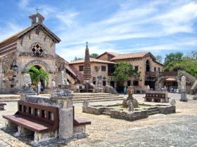 Das Künstlerdorf Altos de Chavon in der Dominikansichen Republik.
