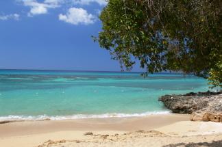 Karibik Feeling am Traumstrand auf Jamaika an der Font Hill Beach