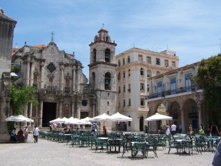 Die Kathedrale in der Altstadt Havannas