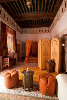 Ein luxuriöses Riad in Marrakesch