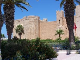 Die alte islamische Festung (Ribat) an der Küste Monastir