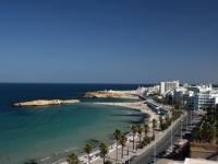 Küste von Monastir in Tunesien